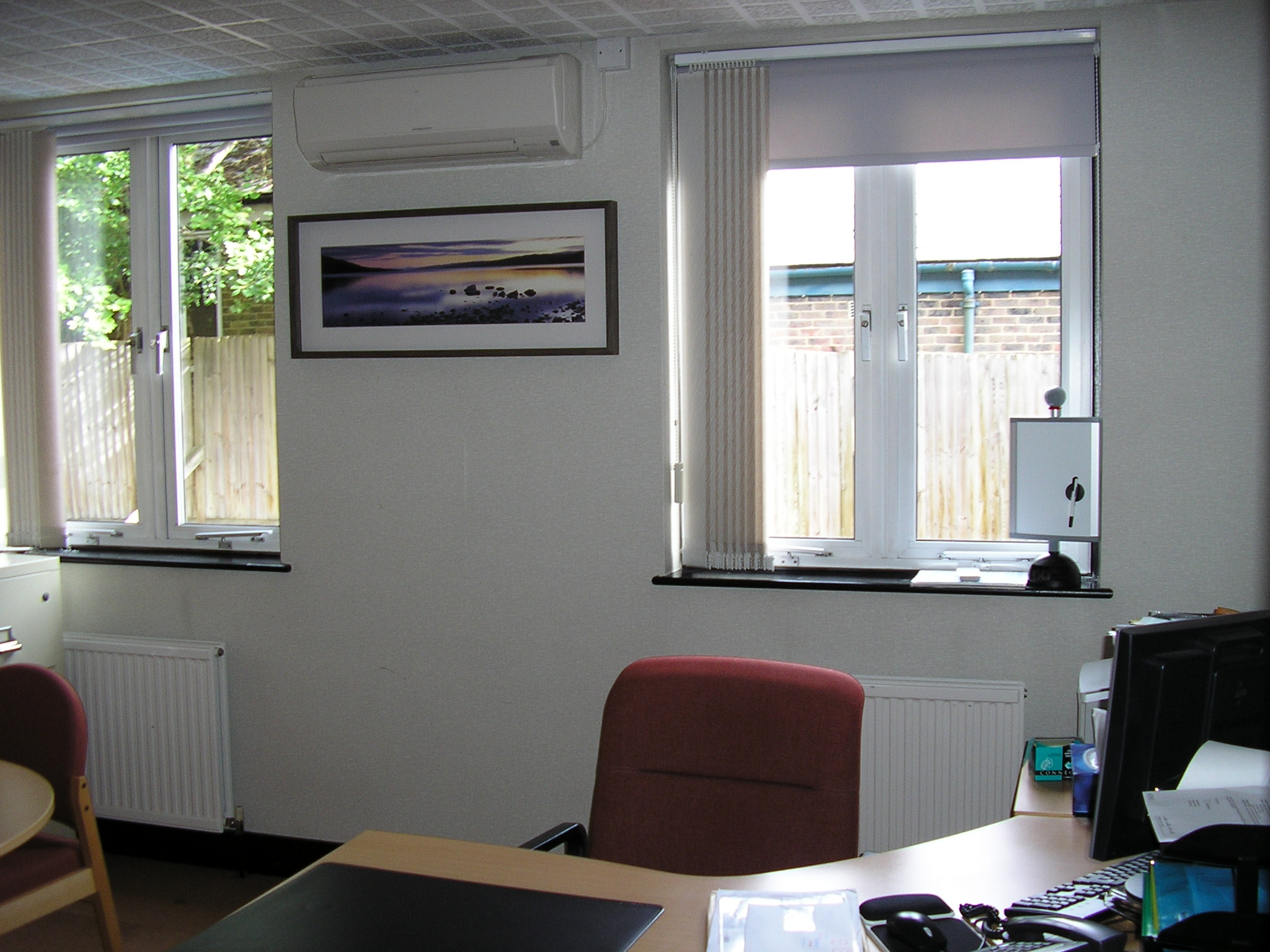 Wall Mounted Units : Air conditioning for offices retail commercial  #3B4A5F